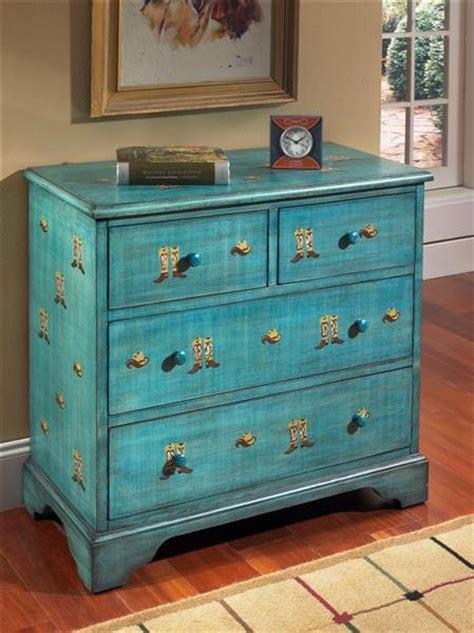 Cowboy Dresser by Inspiration Treasures Color Inspiration Teal