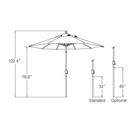 What Size Patio Umbrella Should I Get Standard Patio Umbrella Size Fashionable Standard Size Side Post Umbrella Buy Side What Size