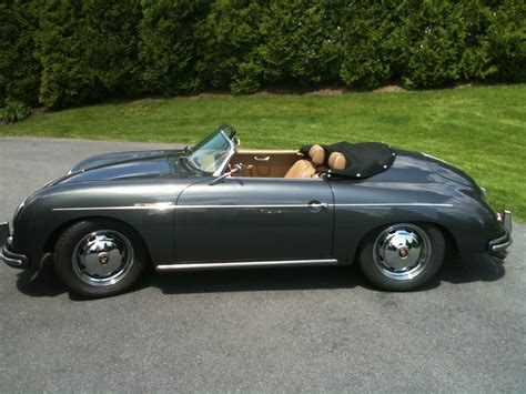 porsche 356 s 1958 porsche 356 a intermeccanica quot s quot speedster 1600