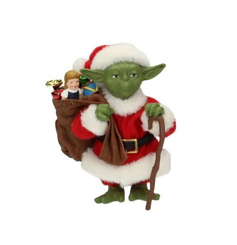 santa figure wars figure yoda santa claus 12 cm for only chf 53 57