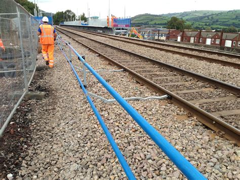 Magnetic Track Duck Limited the rss safety barrier gains efficiency for the energlyn project rss rail safety systems