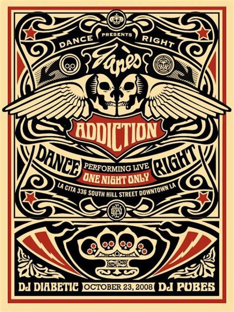 Detox Los Angeles Shows by S Addiction Concert Poster It S Only Rock And Roll