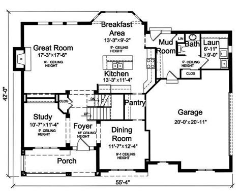 the mud room layout house plans