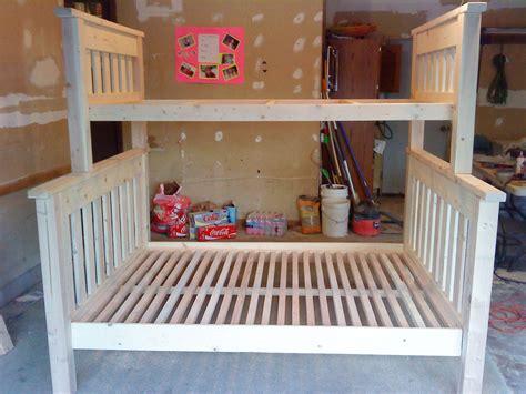 twin  full bunkbed ana white