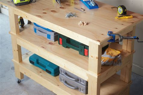 bench magazine pocket hole workbench australian handyman magazine