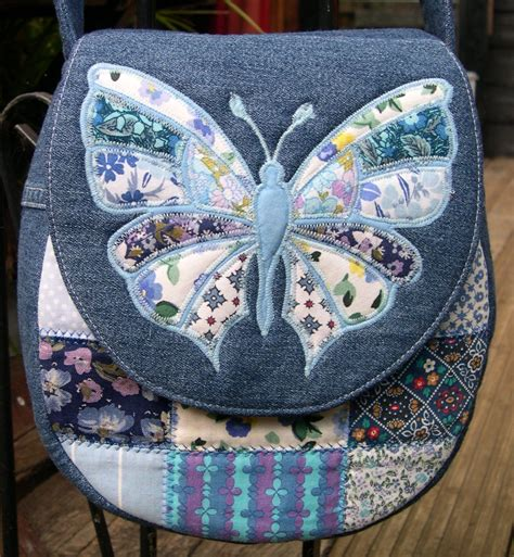 Denim Patchwork Bag Patterns Free - ballet shoes cer vans and messenger bags sew what