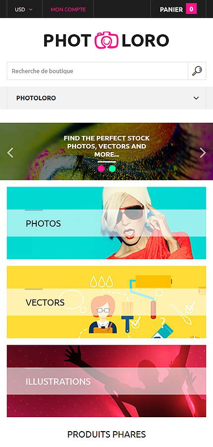 shopify photography themes art photography shopify theme 61209 template shop