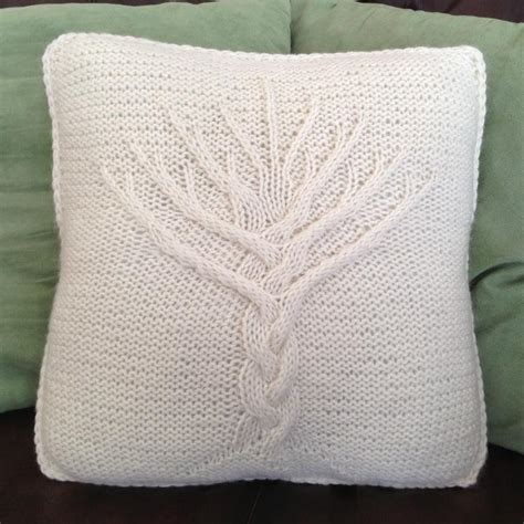 Knit Pillow Pattern by Cable Knit Pillow Cover Patterns A Knitting