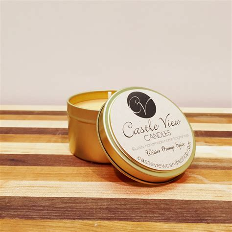 Are Gold Candles Made Of Soy by Castle View Candles Thinks Ahead To Gifting