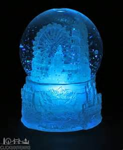 light up snow globe colour changing light up snowstorm snow globe