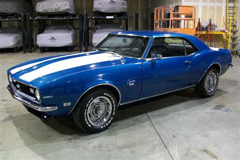 1968 CHEVROLET CAMARO CUSTOM 2 DOOR COUPE   81127