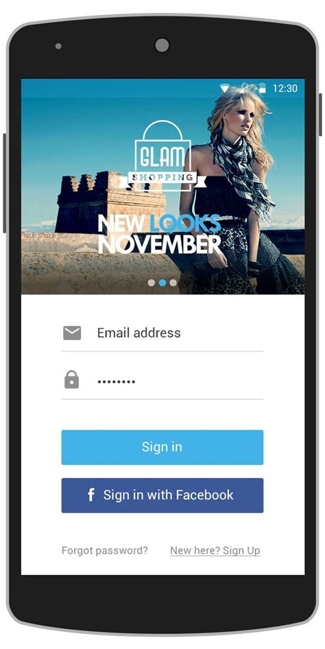templates login android 10 images about login screen ui on pinterest behance