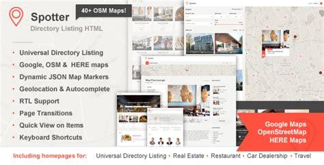 whatsapp themes osm spotter universal directory html template