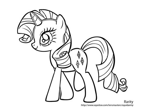 My Little Pony Coloring Pages Free Printable Pictures My Pony Coloring Books