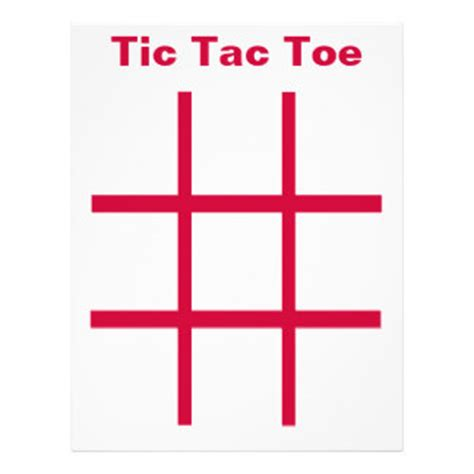 tic tac toe menu template tic tac toe template playbestonlinegames