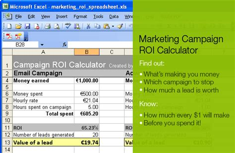 Marketing Caign Roi Calculator 171 Toddle Stuff Marketing Is Easy When You Take It Step By Step Marketing Roi Template Excel