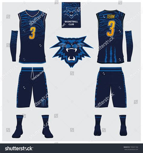 basketball jersey layout front and back basketball jersey shorts socks template basketball stock