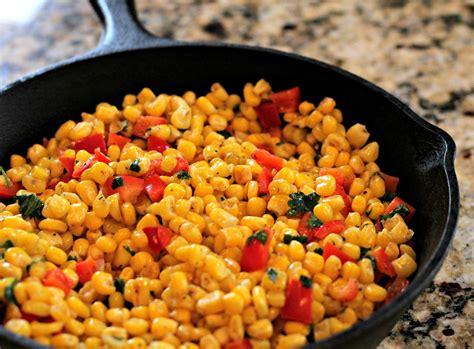skillet corn salad normal cooking