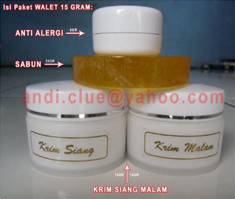 Herbal Malam 5gr sabun walet