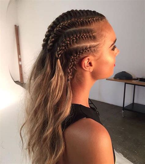 cornrow hairstyles half head pinterest nuggwifee natural hair style braids