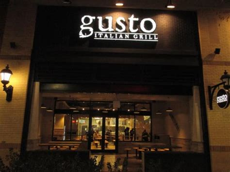 Garden Restaurant Silver Md by The New Gusto Italian Grill In Silver Picture Of