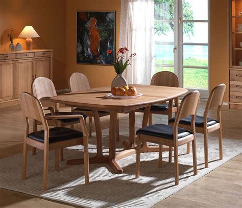 nice dining rooms fine dining room tables solid wood wharfside danish