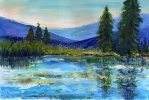 Landscape Pictures For Acrylic Painting Priti Lathia S More Acrylic Practice