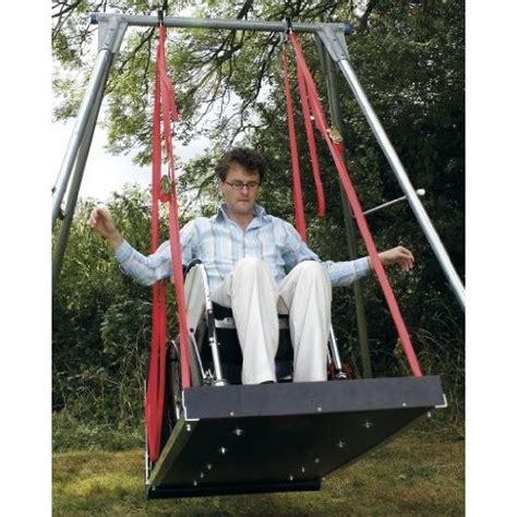 wheelchair swing wheelchair swing for playground i like pinterest