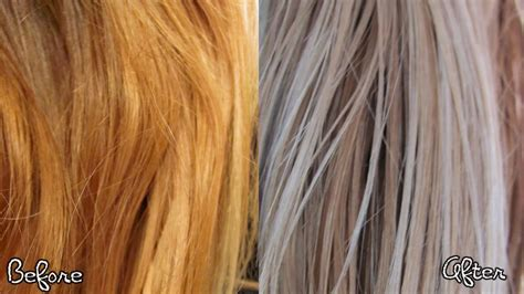 toner after bleaching copper hair unbelievable after blonde toner of best for bleached hair