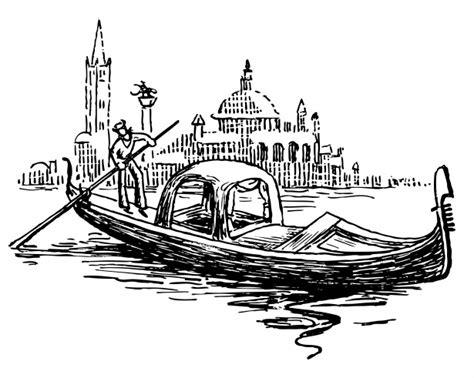 cartoon venice boat venice clipart venice gondola clipart pencil and in