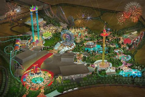 dubai theme parks six flags dubai theme park breaks ground on new 707