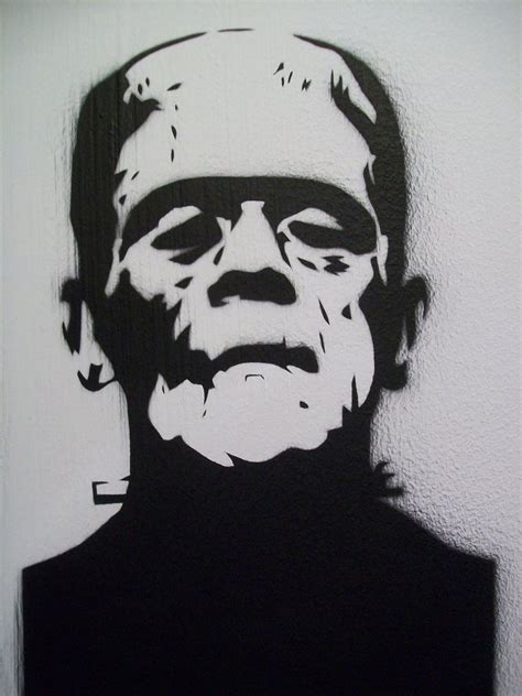 frankenstein template frankenstein stencil images search