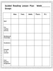 kindergarten guided reading lesson plan template best 25 guided reading lessons ideas on