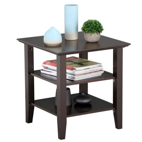 oak nightstand bookshelf decorating with special
