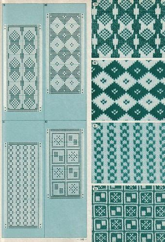 my pattern library 52 best images about punch card patterns on pinterest