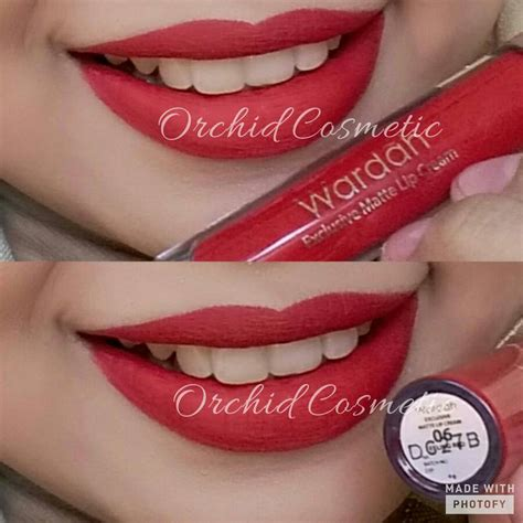Lip Wardah Lipcream Lipgloss Matte jual new wardah exclusive matte lip orchid