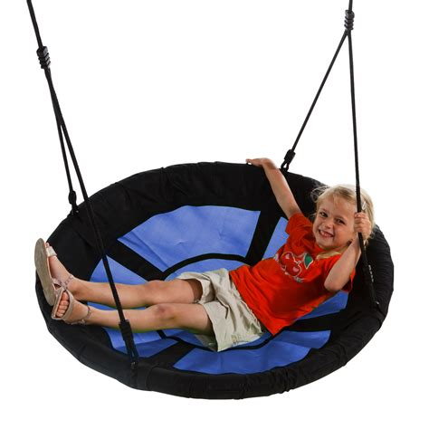 eclipse swing saucer web swing eclipse blue rabbit play