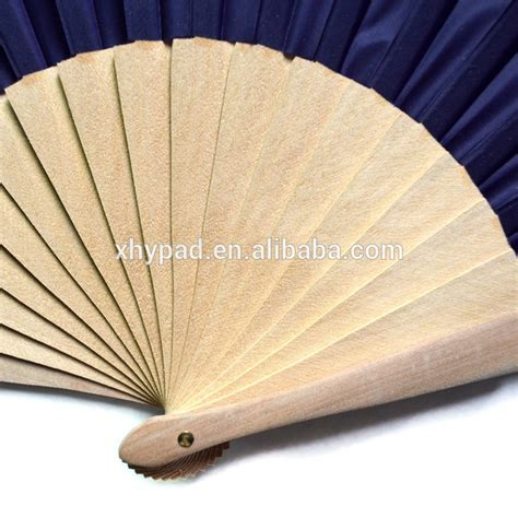 Sublimation Fabric Custom Wedding Folding Fans With