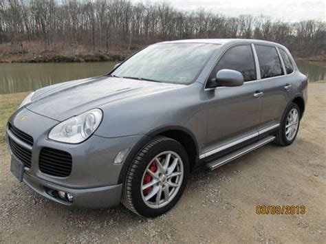 buy   porsche cayenne turbo sport utility  door