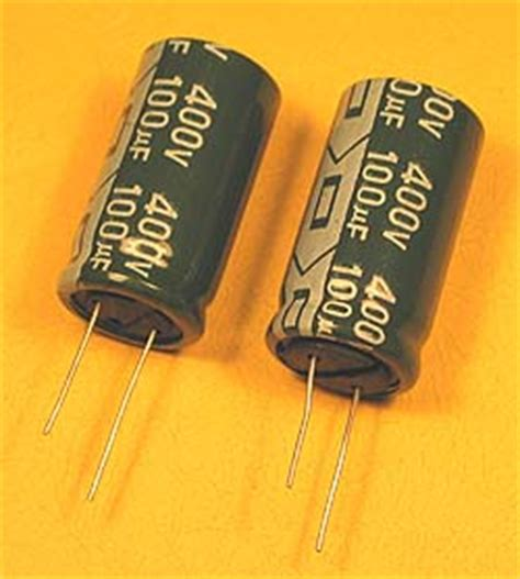 how to connect electrolytic capacitor how to connect capacitors in series electronics repair and technology news