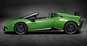 Lamborghini Huracan Lamborghini Huracan Performante Spyder Looks Delicious In