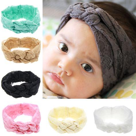 Lace Knot Headband 1 x baby headband lace tie headband top knot headband