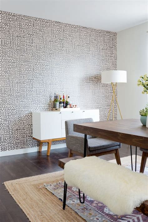 Dining Room Wallpaper Accent Wall by 25 Best Ideas About Wallpaper Accent Walls On