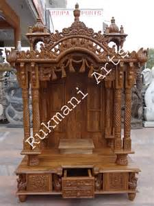 code 65 wooden carved teakwood temple mandir furniture