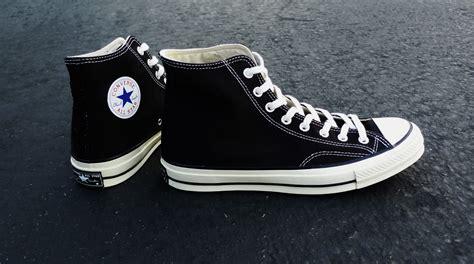 Converse Ct Hi 70s 1970s Original Black White converse string standards 1970s chuck all sole collector