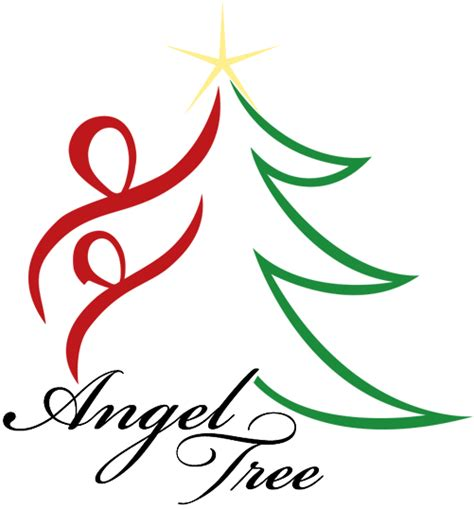 salvation army angel tree logo usa salvation army tree