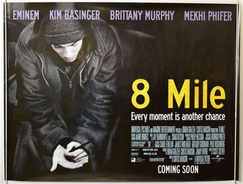 film eminem 8 mile bande annonce 8 mile original cinema movie poster from pastposters com