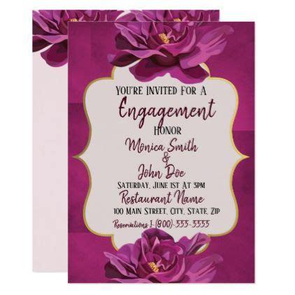 Engagement Invitation Card Ideas