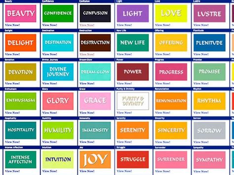 Colours and their meanings on Vimeo
