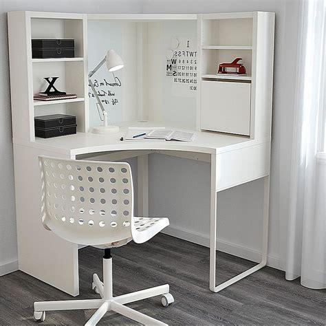 ikea corner desk micke micke corner workstation white 100 215 142 cm ikea satukis